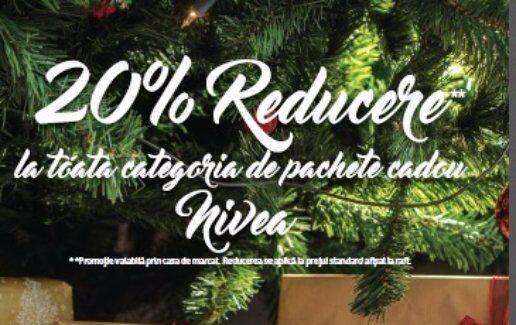 -20% la pachetele NIVEA cadou