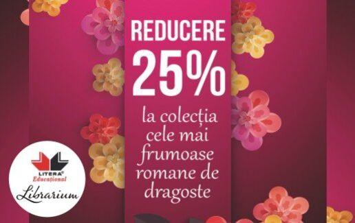 -25% la romanele de dragoste