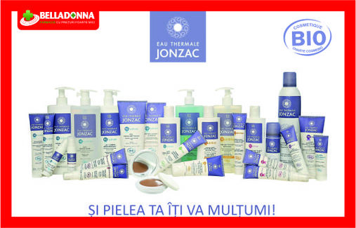-5% la produsele Jonzac in Farmaciile Belladonna