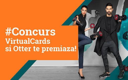 #Concurs VirtualCards si Otter te premiaza!