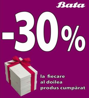 1 produs +30% discount la al 2-lea