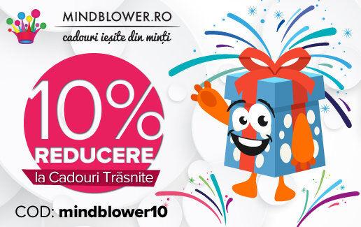 10% reducere la Cadouri Trasnite!