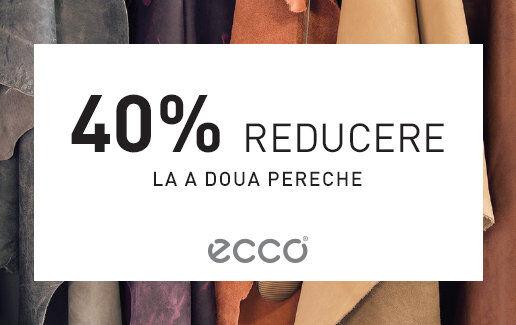 40% reducere la al doilea articol