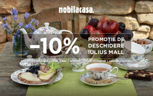 Am deschis Nobila Casa în Iulius Mall Cluj-Napoca!