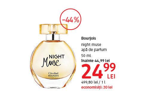 Apa de parfum Bourjois la 24.99 lei