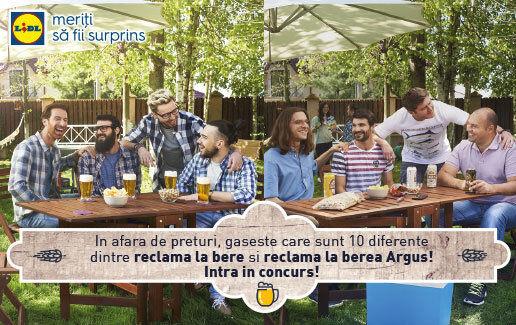 Argus, o bere pentru toata lumea