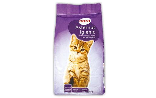Asternut igienic pentru pisica la 6.99 lei