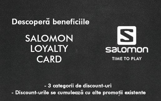 Beneficii Program de Loialitate Salomon