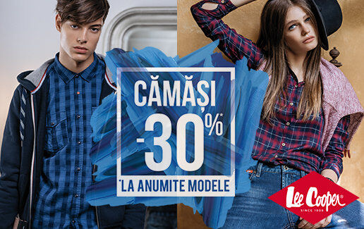 Camasi – 30% reducere
