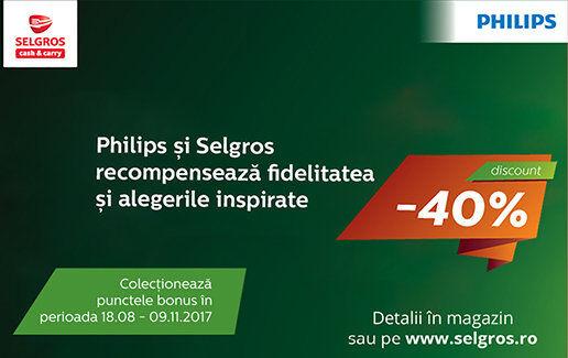 Campania Philips de fidelitate clienti