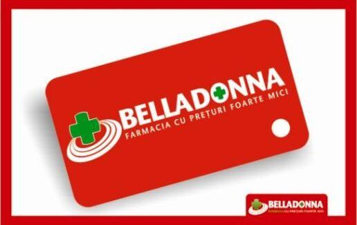 Cardul Belladonna, intre 5-20% reducere la produsele selectate!