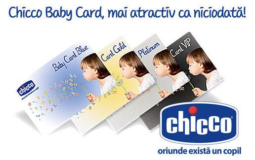 Cardul de fidelitate Chicco