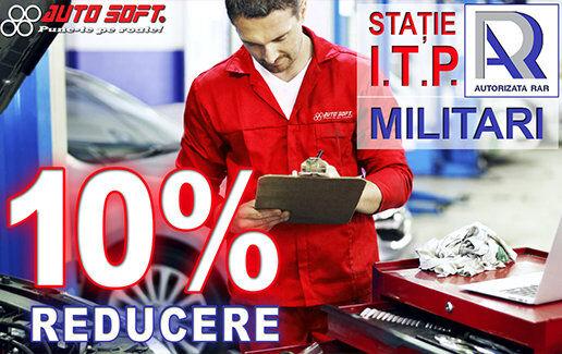 Cardul de fidelitate iti ofera 10% reducere la ITP