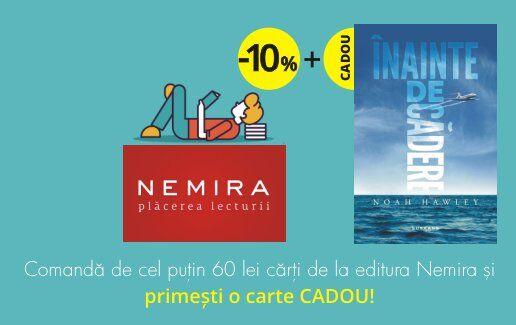 Carte CADOU și reduceri de 10% de la editura NEMIRA