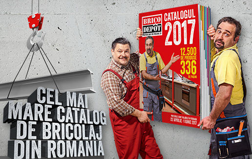 Cel mai mare catalog de bricolaj din Romania!