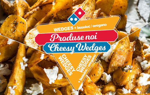 Cheesy Wedges