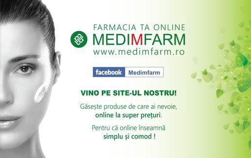 Comanda online pe www.medimfarm.ro