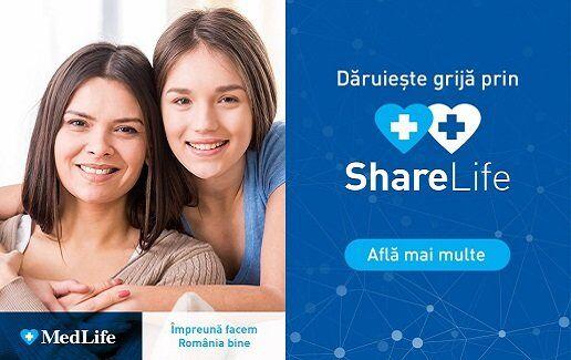 Daruieste -50% la o consultatie cu ShareLife