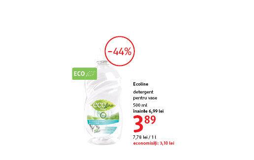 Detergent de vase la 3.89 lei