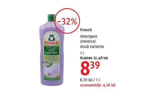 Detergent universal la 8.39 lei