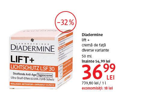 Diadermine la 36.99 lei