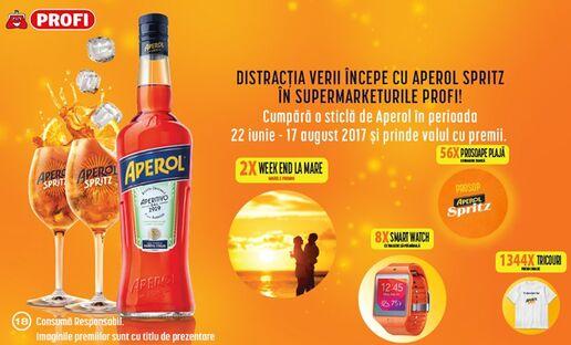 Distractie cu Aperol Spritz