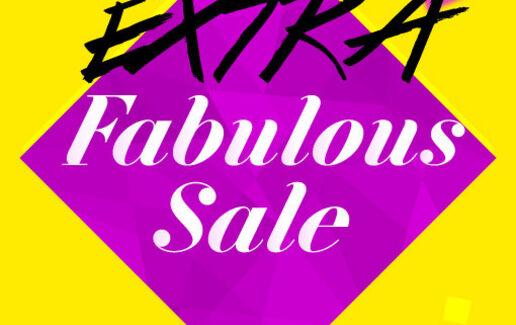 EXTRA Fabulous Sale pana la -80%