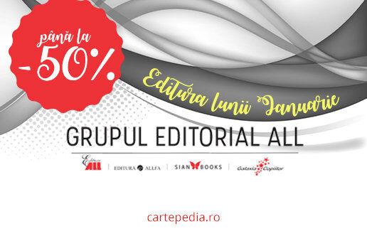 Editura lunii ianuarie la Cartepedia -50%