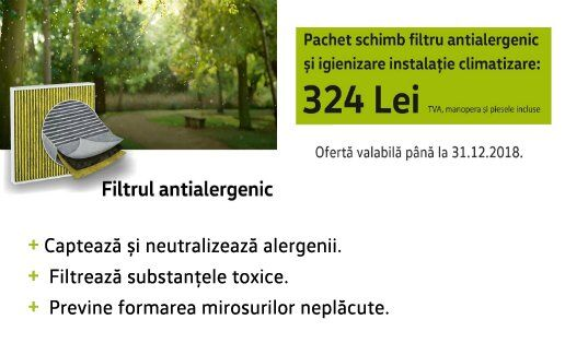 Filtrul antialergenic