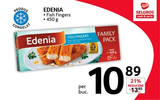 Fish Fingers Edenia la 10.89 lei