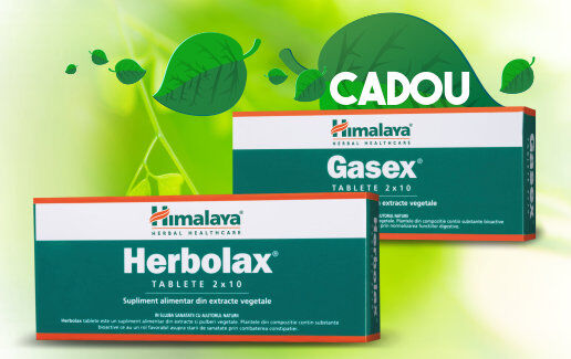 Herbolax + Gasex Cadou