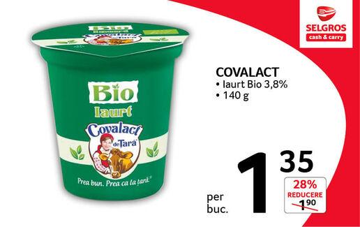 Iaurt Bio Covalact la 1.35 lei