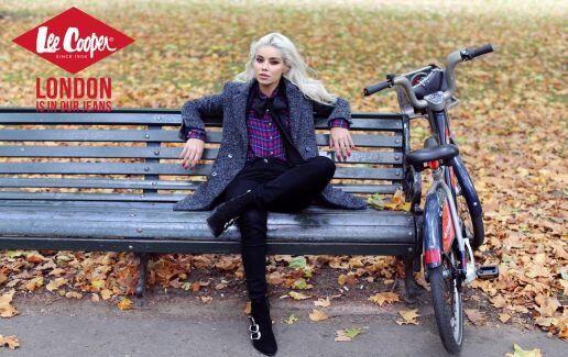 Lee Cooper si Alina Ceusan: #LONDONISINOURJEANS