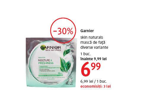 Masca de fata Garnier la 6.99 lei