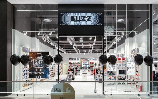 Noul magazin BUZZ in Mega Mall