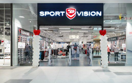 Noul magazin Sport Vision in Mega Mall