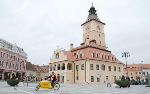 Noul serviciu de curierat pe bicicleta in Brasov