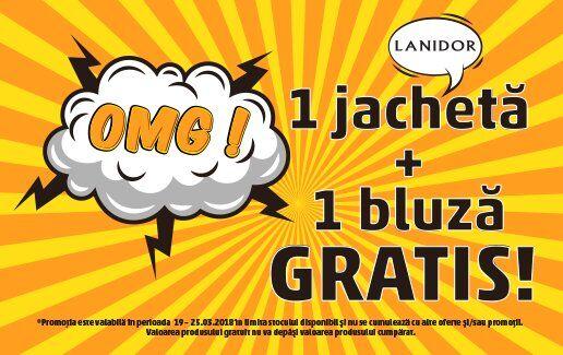 OMG! 1 jacheta + 1 bluza GRATIS