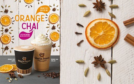 Orange Chai Latte si Orange Chai Chiller