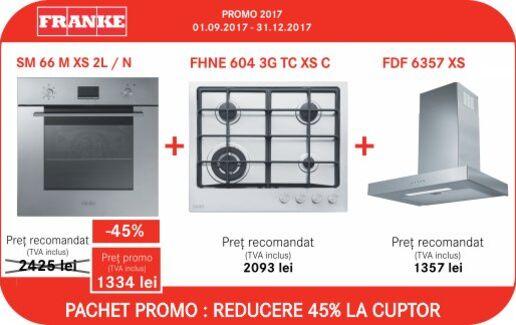 Pachet PROMO: reducere 45% la cuptor