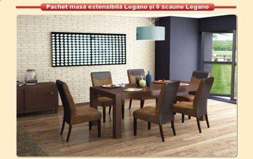 Pachet masa extensibila Legano