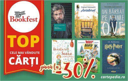 Pana la -30% la cartile Bookfest