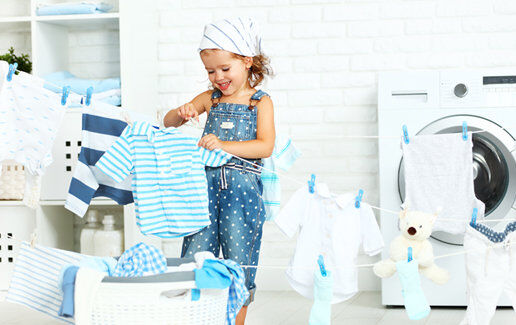 Pentru haine curate si pufoase