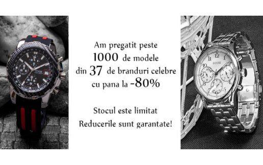 Peste 1000 de modele cu pana la 80% REDUCERE