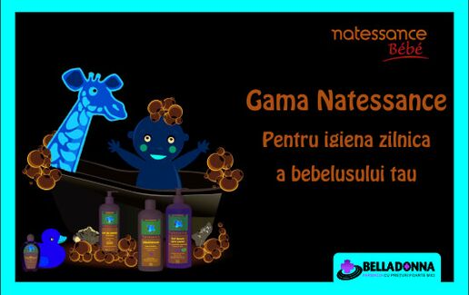 Produsele Natessance Bebe in Farmaciile Belladonna