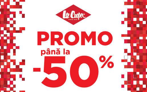 Promo – Pana la -50% reducere