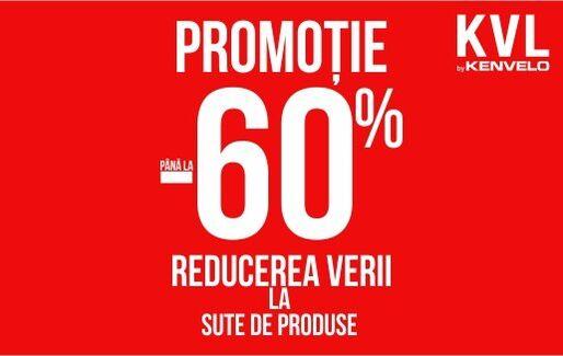 Promotie – Pana la -60% reducere