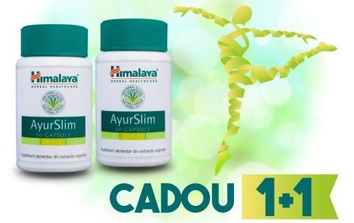 Promotie AyurSlim 1+1 Cadou