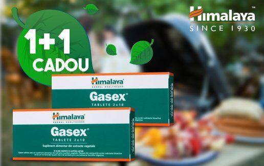 Promotie Gasex 1+1 Cadou