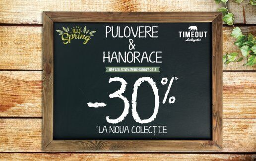 Pulovere & Hanorace - 30% reducere